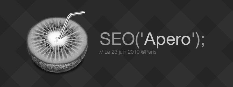 Apéro SEO & co : ce mercredi 23 juin sur Paris
